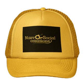 new social creations trucker hat