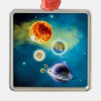 New Solar System Christmas Ornament