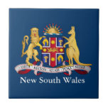 New South Wales coat of arms Ceramic Tiles