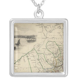 New South Wales Silver Plated Necklace