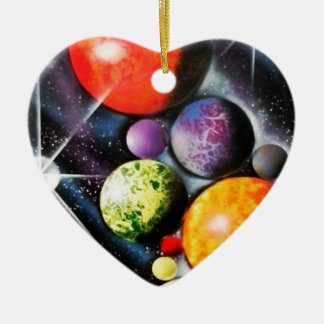 New Space Age Christmas Tree Ornaments
