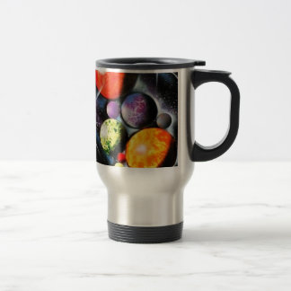 New Space Age Stainless Steel Travel Mug