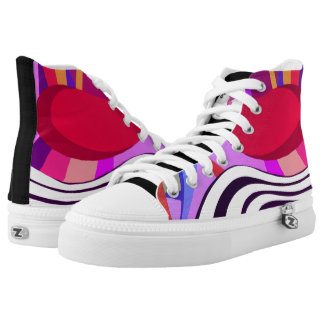 NEW Space Mania Popular Design by Raluca Nedelcu High Tops