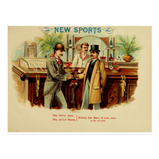 New Sport Have a Drink on Me Postcard