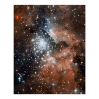 New Stars in NGC 3603 16x20 (16x20) Poster