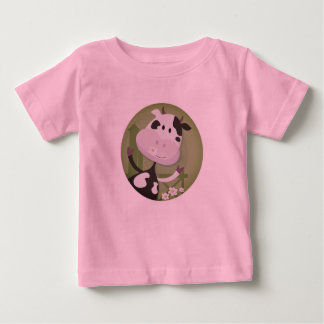 New stylish baby Cow tshirt / Pink