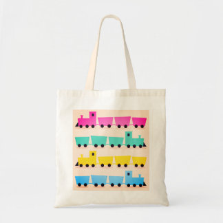 New! Stylish vintage train Tote bag. New!