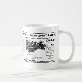 New Super Zyto Lathe Avert 1930's Coffee Mug