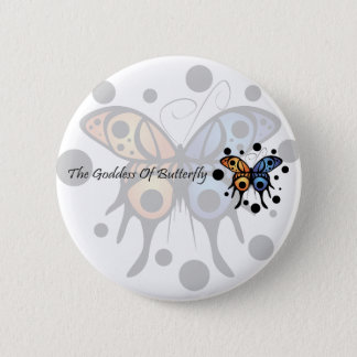 -New- The Goddess Of Butterfly 6 Cm Round Badge