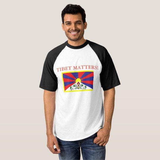 New Tibet Matters Design T-Shirt. T-Shirt