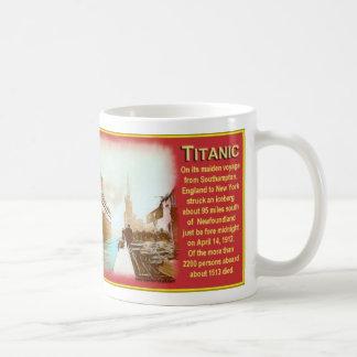 New Titanic Coffee Cup Mug
