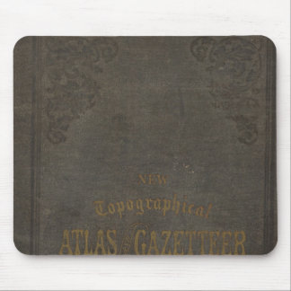 New topographical atlas and gazetteer of Indiana Mouse Mat