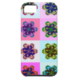 New Tulips Mandala pop Art iPhone 5 Case