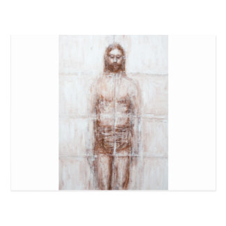 New Turin Shroud (Contemporary Realism Jesus) Postcard