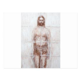 New Turin Shroud (Contemporary Realism Jesus) Postcard