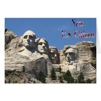 New U.S. Citizen Greetings Card