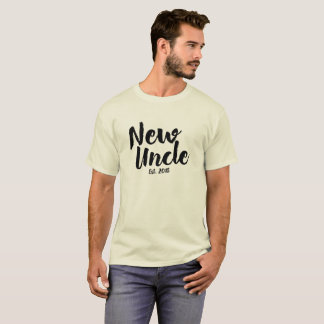 New Uncle Est. 2018, Future Uncle Gift T-Shirt