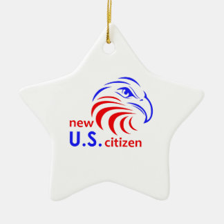 NEW US CITIZEN CHRISTMAS ORNAMENT