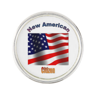 New US Citizen Lapel Pin