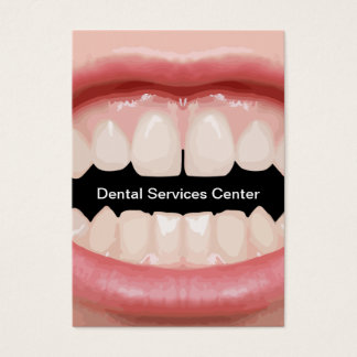 New Vertical Dental Business Cards