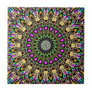 New Vision No 5 Kaleidoscope Tile