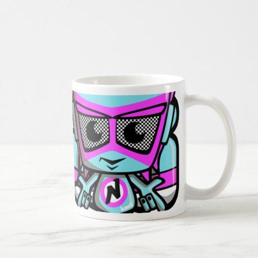 New Wave Mascot Coffee Mugs