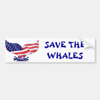 New-Whale-Tail-[Converted] Bumper Sticker
