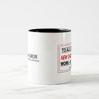 New Work Incentive! Two-Tone Mug