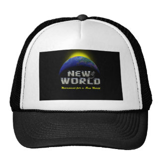 New World Mesh Hats