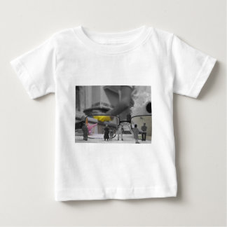 New World - how a child views a parent Baby T-Shirt