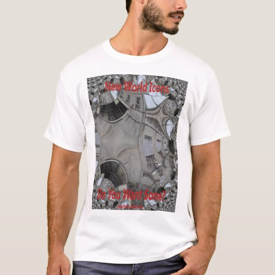New World Icons Mens T-Shirt White