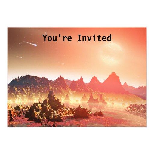 New World Personalized Invite