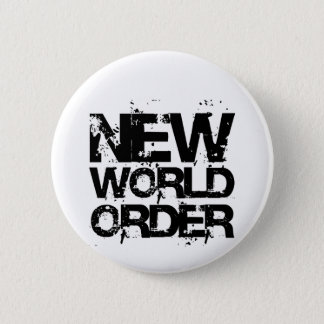 New World Order 6 Cm Round Badge