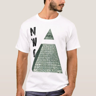 New World Order Pyramid T-Shirt