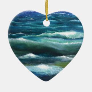 New World Symphony Ceramic Heart Decoration
