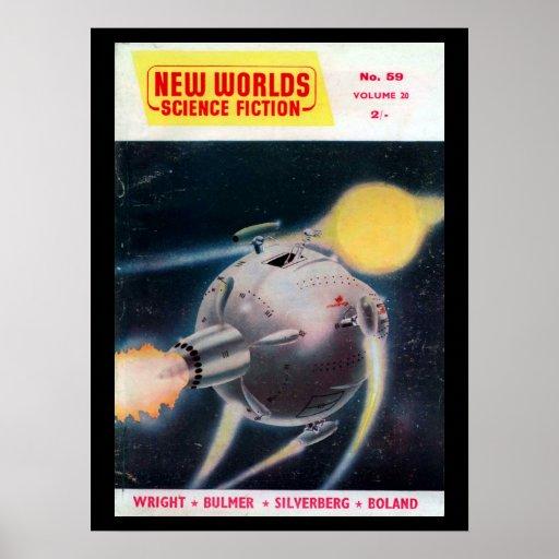 New Worlds 059 (1957-05.Nova)_Pulp Art Poster