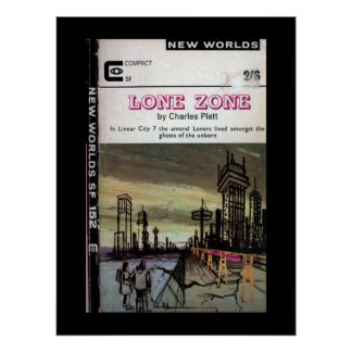 New Worlds 152 (1965-07.Roberts&Vinter)_Pulp Art Poster