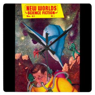 New Worlds 51_Pulp Art Wallclocks