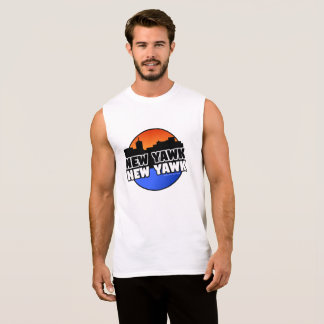NEW YAWK NEW YAWK SLEEVELESS SHIRT