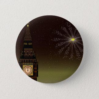 New Year 6 Cm Round Badge