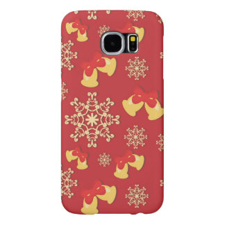 New Year and Christmas background Samsung Galaxy S6 Cases