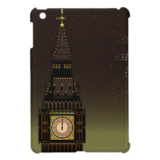 New Year And Fireworks iPad Mini Cover
