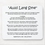 """New Year """"Auld Lang Syne"""" Mousemat Mouse Pads"""