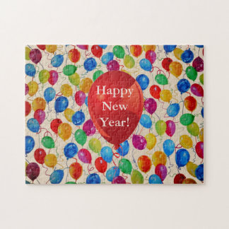 New Year Balloons Jigsaw Puzzle