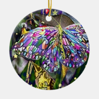 New Year Butterfly! Christmas Ornament
