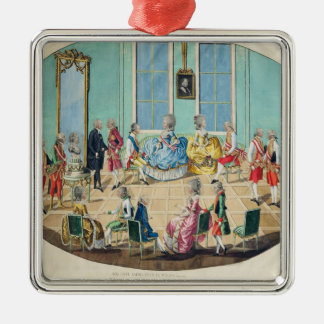 New Year celebration in Vienna in 1782, 1783 Christmas Ornament