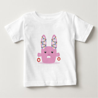 New year / Christmas bunny Baby T-Shirt