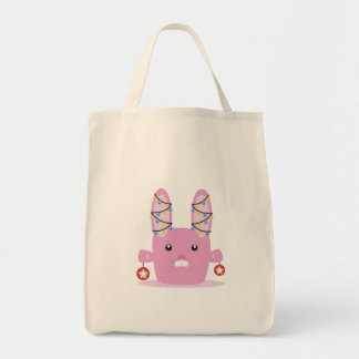 New year / Christmas bunny Tote Bag