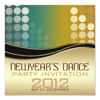 New Year Club DJ Dance Party Invitation