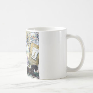 New Year Couple Horse House Flowers Victorian Art Mugs